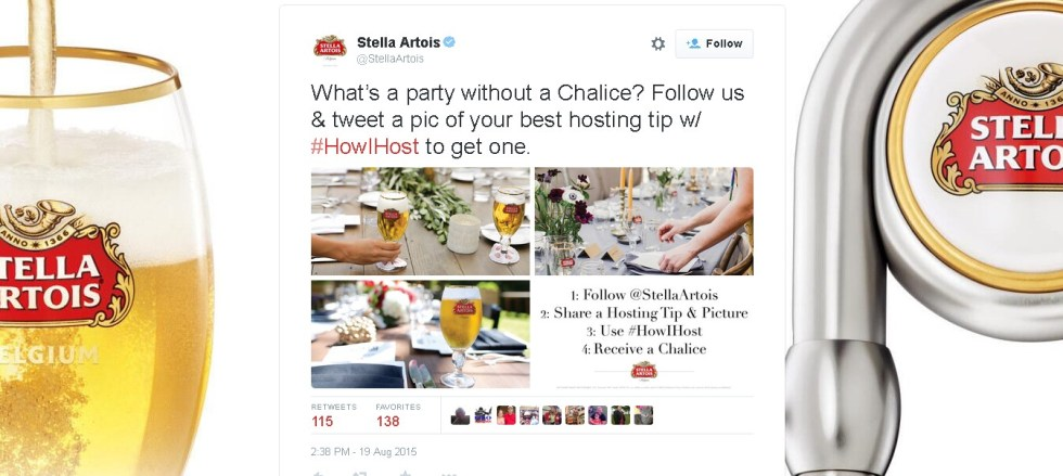 Receive a Stella Artois Chalice in USA 1