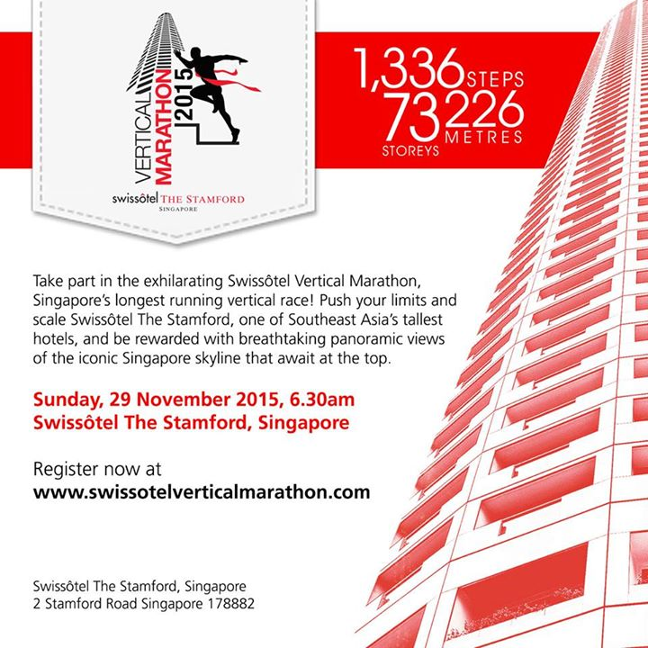 WIN 3 Swissôtel Vertical Marathon Team passes at Shape Singapore