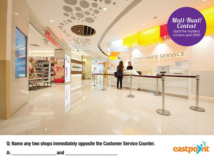 Win a $20 Voucher at Eastpoint Mall Singapore