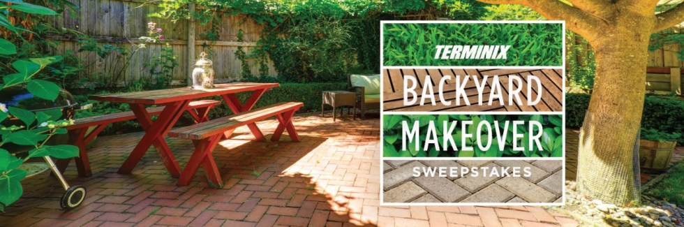 Win the Terminix Backyard Makeover Worth $20,000
