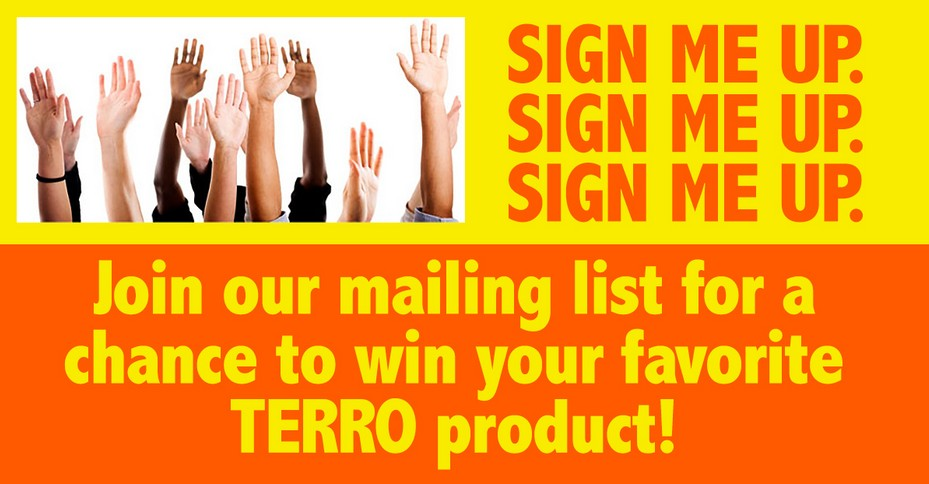 Win your Favourite TERRO Product!