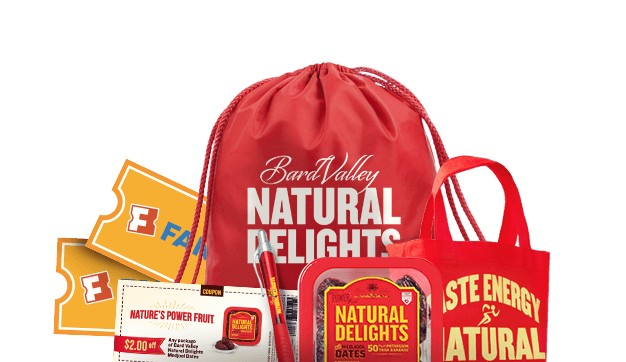Enter to Win a Medjool Date Night Prize Package at Natural Delights USA