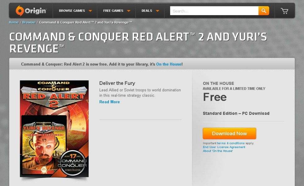 FREE Command & Conquer Red Alert™ 2 and Yuri's Revenge