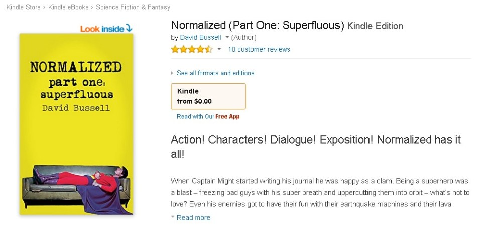 FREE Normalized (Part One Superfluous) Kindle Edition at Amazon 1