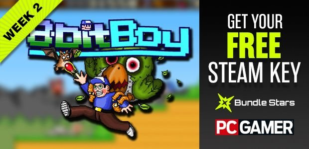 FREE Steam key for Awesomeblade's 8BitBoy, courtesy of Bundle Stars and PC Game