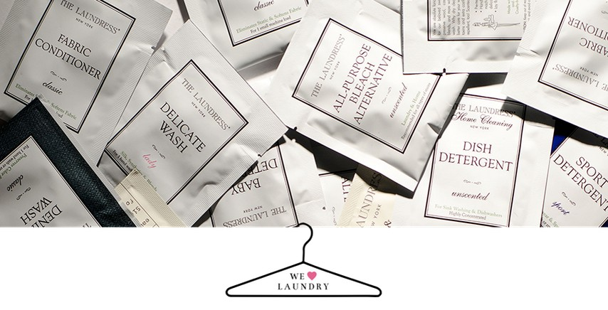 Free Sample of Either The Laundress Delicate Wash or Wool & Cashmere Shampoo
