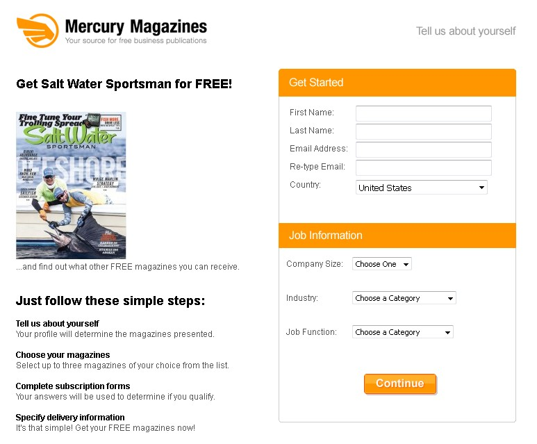 Get Salt Water Sportsman for FREE at Mercury Magazines (2)