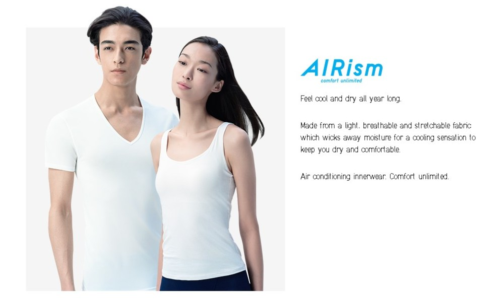 Get your free AIRism at Uniqlo Malaysia