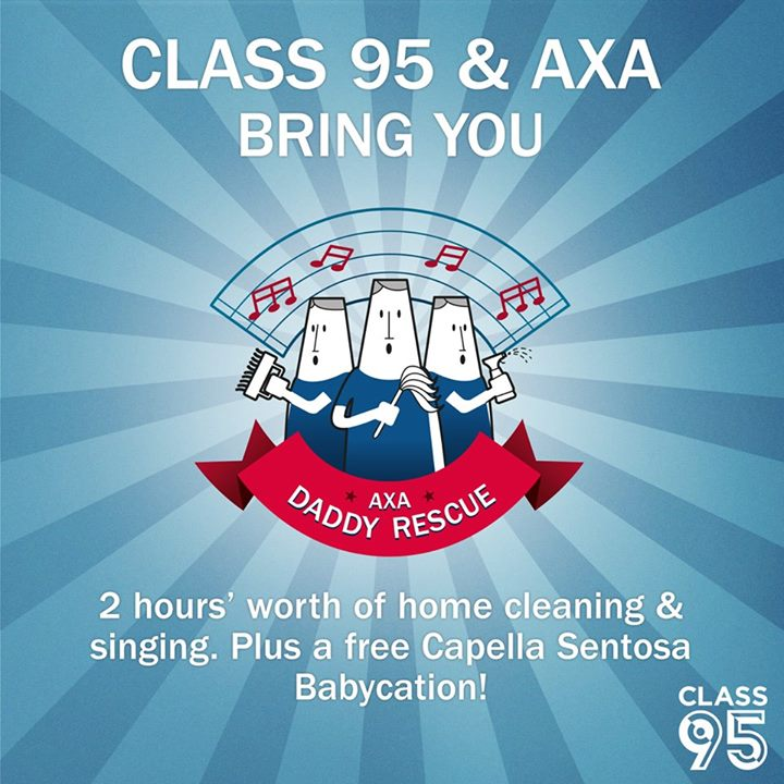 Grand Prize of a Babycation in Capella Singapore worth $2,000 at Class 95FM Singapore