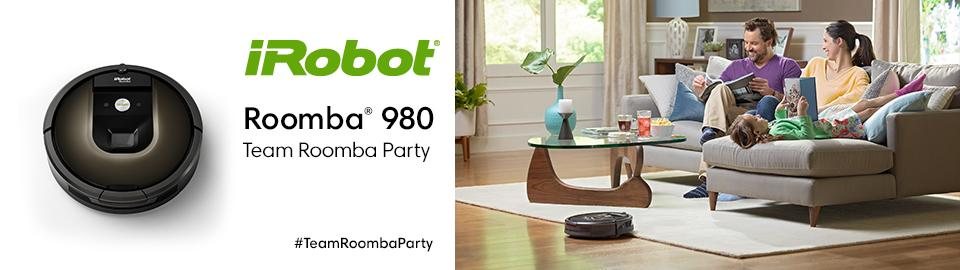 Host a Team Roomba Party