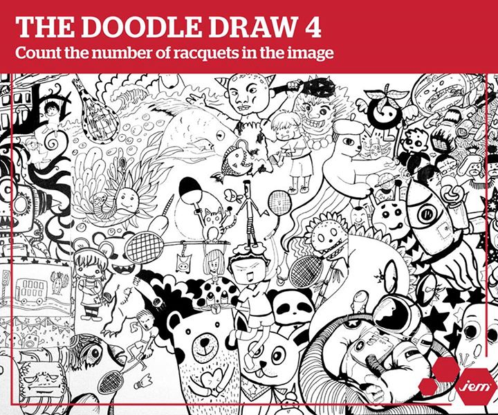 The Doodle Draw 4 Contest at JEM Singapore