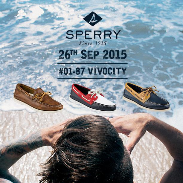 WIN Sperry Footwear worth up to $329 each at JUICE Singapore