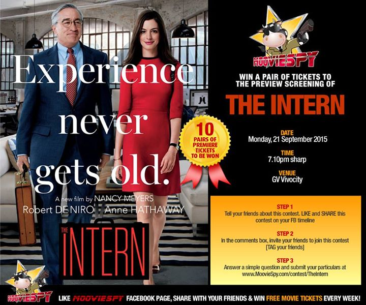 WIN preview screening of THE INTERN starring Anne Hathaway and Robert De Niro