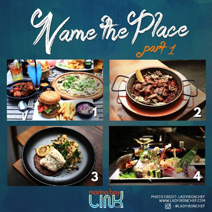 Win Marina Bay Link Mall (MBLM) vouchers for a hearty meal