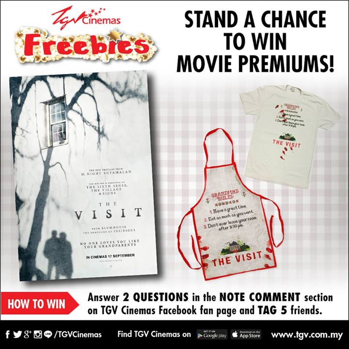 Win The Visit movie premiums at TGVCinemas Malaysia