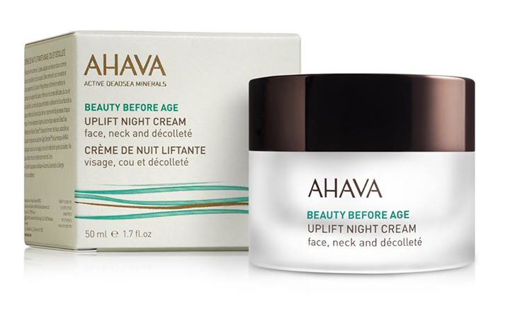 Win a 50 ml AHAVA Uplift Night Cream For Face, Neck & Décolleté at Nuyou Singapore