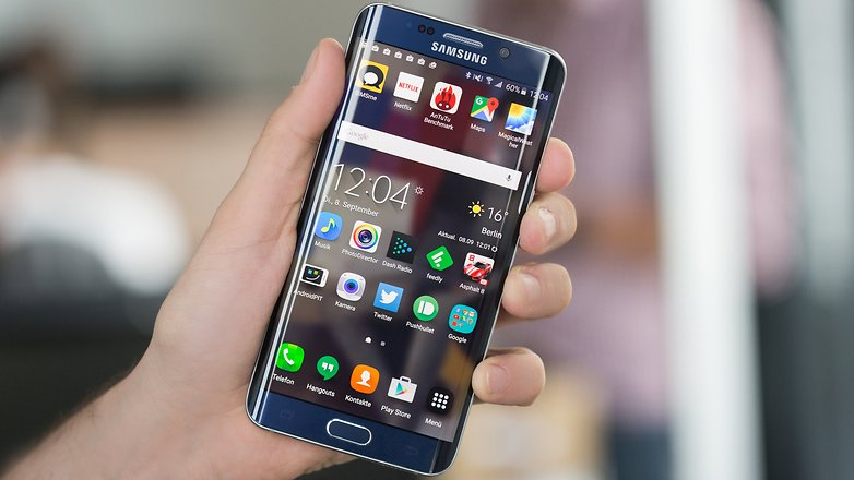 Win a brand new Samsung Galaxy S6 Edge at Androidpit