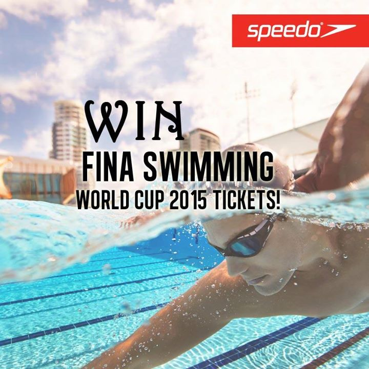 Win a pair of tickets to the FINA Swimming World Cup 2015 at Royal Sporting House Singapore