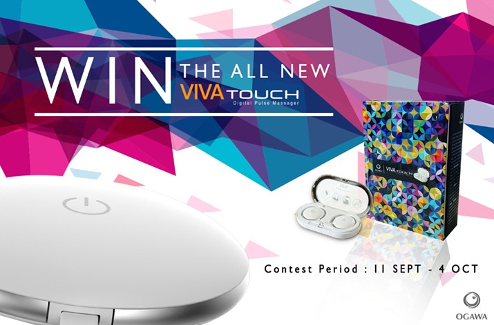 Win the all new Viva Touch at Ogawa Singapore