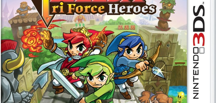 Asian Geek Squad Giveaway The Legend of Zelda TriForce Heroes