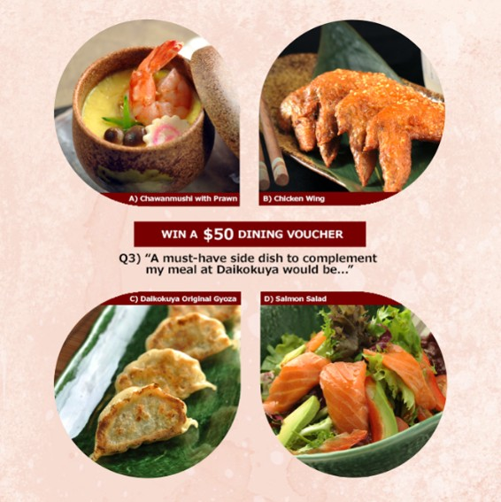 Daikokuya Ramen Dining Like, Comment and Share Contest from now - 31 Oct '15