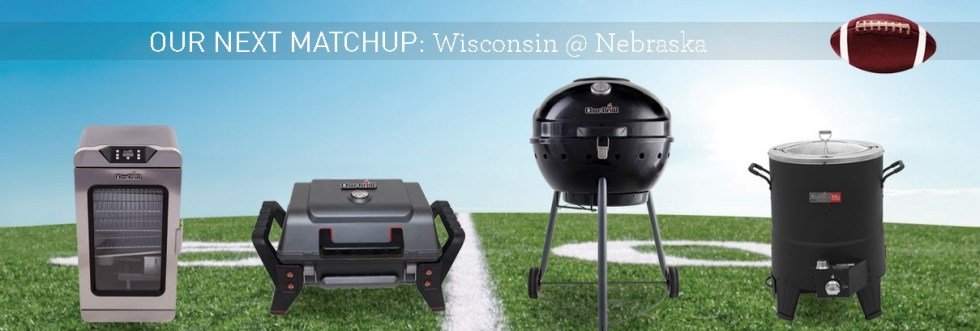 ENTER TO WIN A NEW COOKER ON GAME DAY AT CHARBROIL
