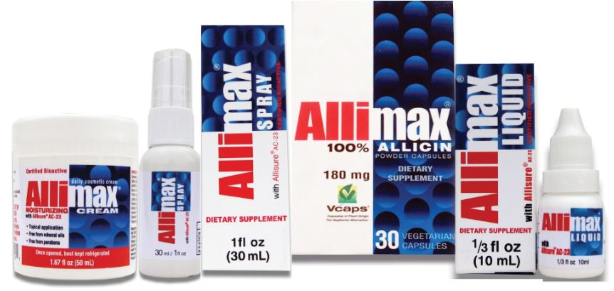 FREE Allimax Sample with Literature & 2 Pills Stapled