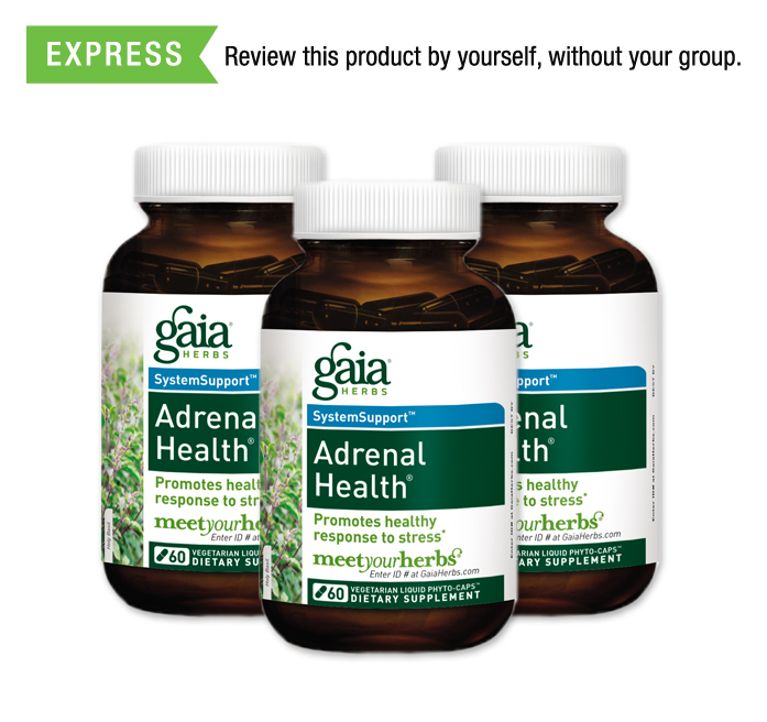 FREE Gaia Herbs Adrenal Health Sample to Mom Ambassadors