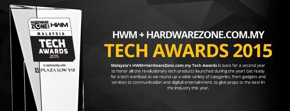 HWM + HARDWAREZONE.COM.MY TECH AWARDS 2015