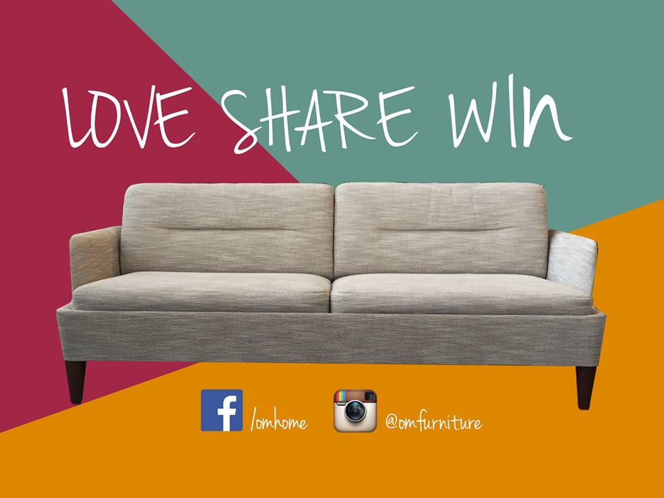 OM Home Singapore Sofa Giveaway Contest