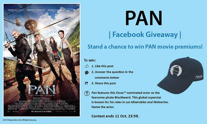 Stand a chance to win PAN movie premiums at Filmgarde Cineplex Singapore