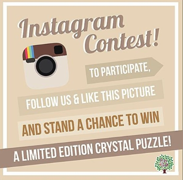 Stand a chance to win a limited edition 3D Crystal Puzzle at playnlearnsg