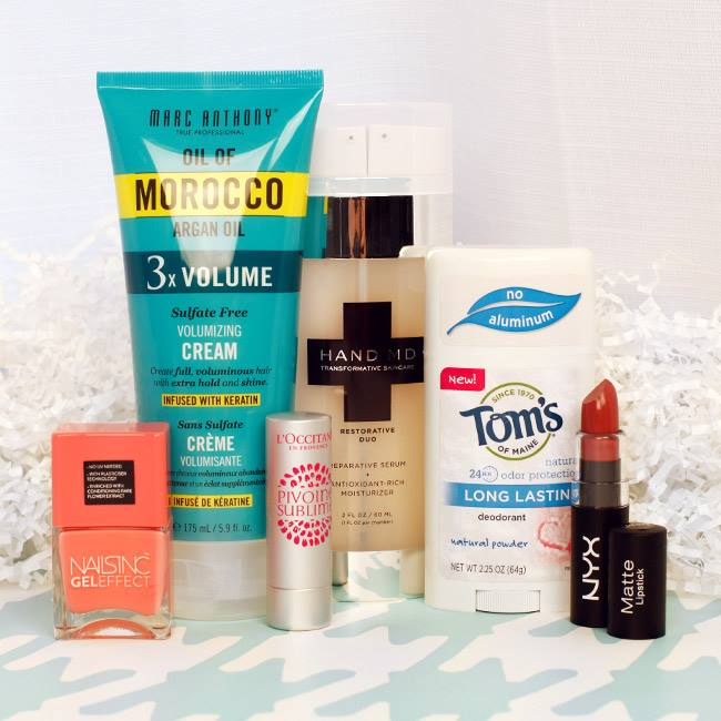Total Beauty GIVEAWAY Marc Anthony, L'Occitane, Nailsinc & more