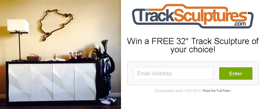 Win a FREE 32 Track Sculpture of your choice!