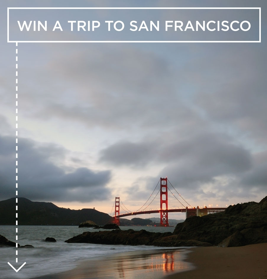 Win a trip to San Francisco at Where Traveler