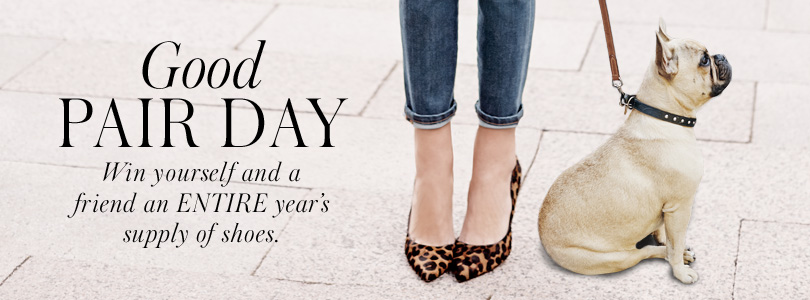 Win shoes for a year at Boden Clothing USA