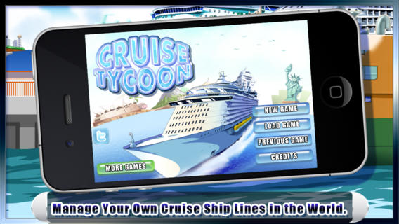 FREE iOS Game Cruise Tycoon By TRADEGAME Lab Inc.