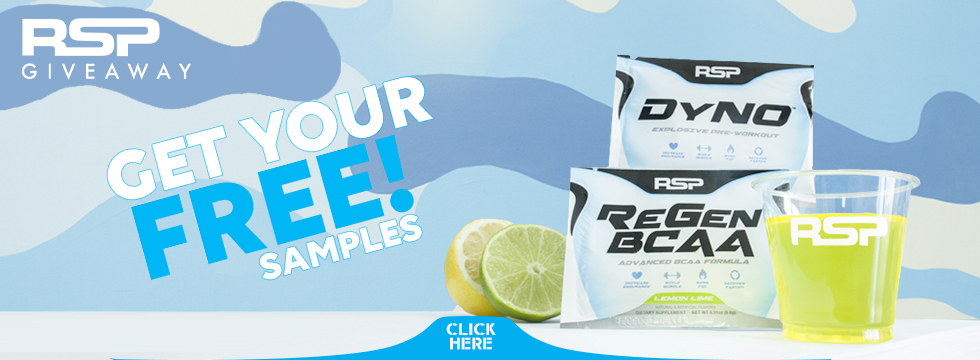 Free Sample Program at RSP Nutrition USA