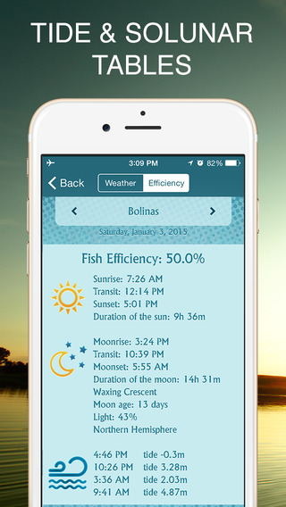 Free Sports App Fishbox - Fishing Forecast App for Angling. Best Fishing Spots and Times By Yum Yum