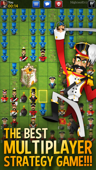Free iOS Game Stratego® Multiplayer By Youda Games Holding B.V.