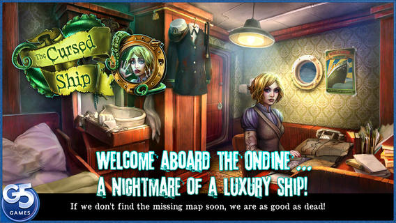 Free iOS Game The Cursed Ship, Collector's Edition (Full) By G5 Entertainment