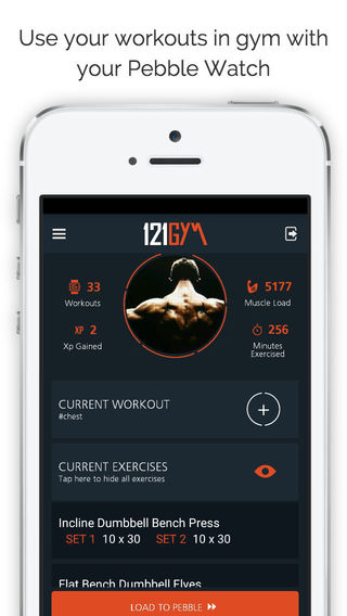 Free iOS Health & Fitness App 121Gym Smart Workouts By Leslie Barry