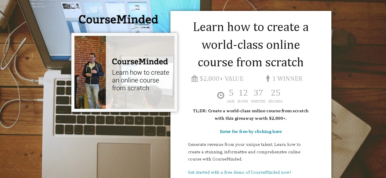 Learn how to create a world-class online course from scratch at