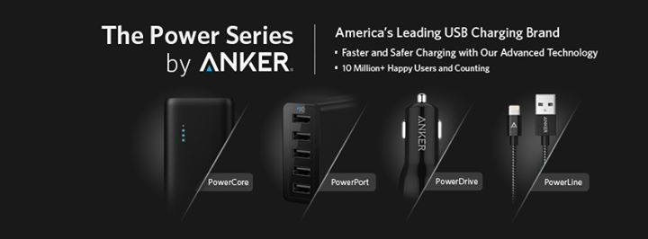 PowerCore 13000mAh Portable Charger Giveaway! 100 up for grabs at ANKER