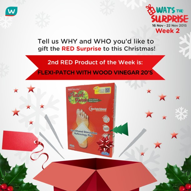 WIN Flexi-Patch with Wood Vinegar 20's at Watsons Singapore