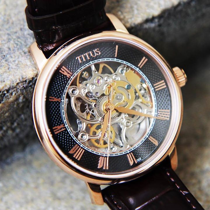 WIN a Solvil et Titus Mechanical Collection 3-Hand Watch
