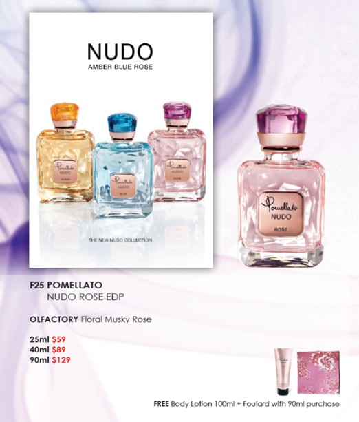 Win Pomellato Nudo Rose at SASA SG