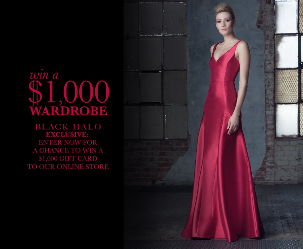 Win a $1,000 Black Halo Wardrobe
