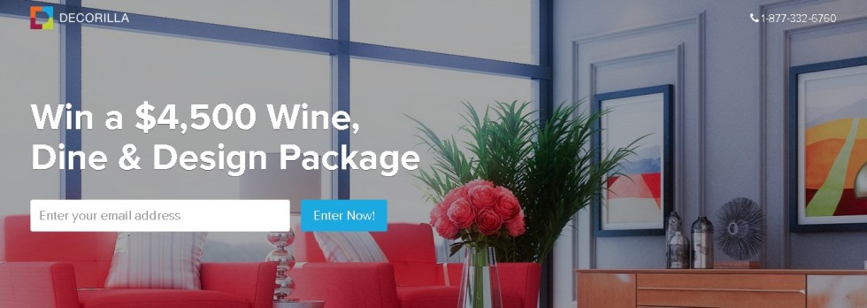 Win a $4,500 Wine, Dine & Design Package