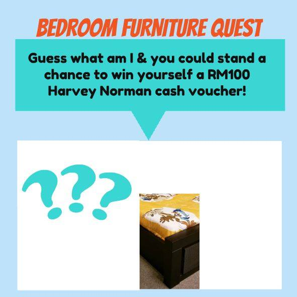 Bedroom Furniture Quest at Harvey Norman Malaysia